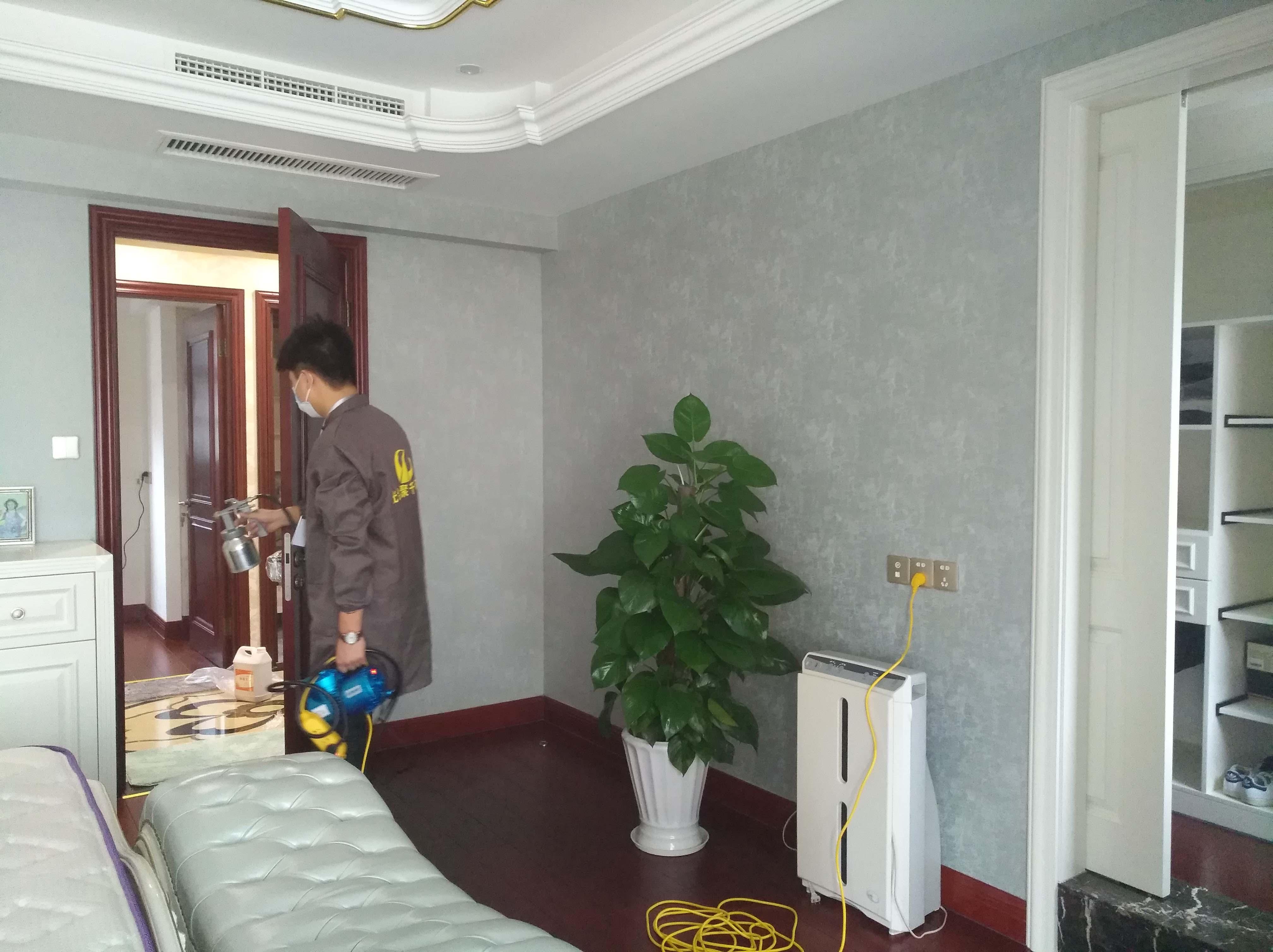 别墅室内空气治理